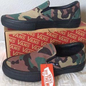 Vans Slip-On Pro Camo, Black6